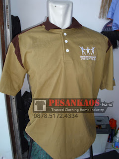 Supplier Kaos Polo Shirt Bordir, Konveksi Kaos Polo Shirt Bordir