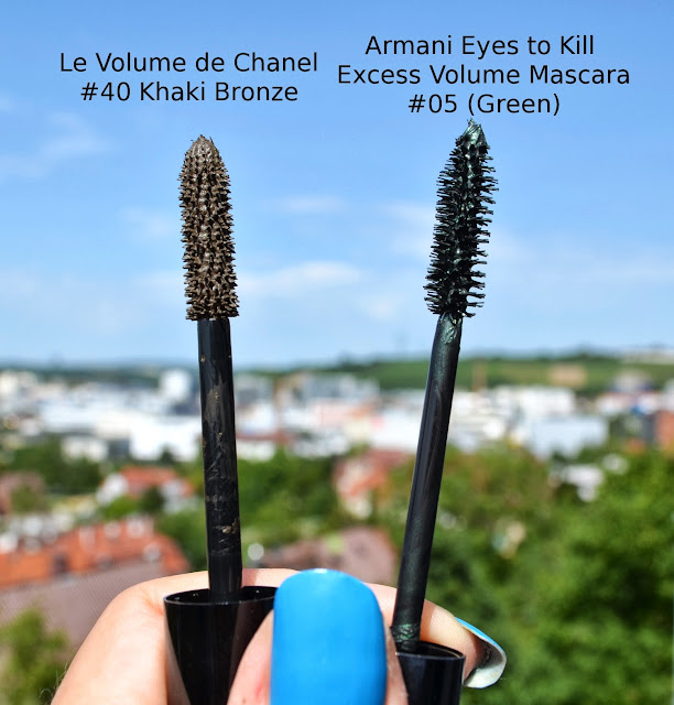 chanel le volume mascara in 40 khaki bronze from fall. Black Bedroom Furniture Sets. Home Design Ideas