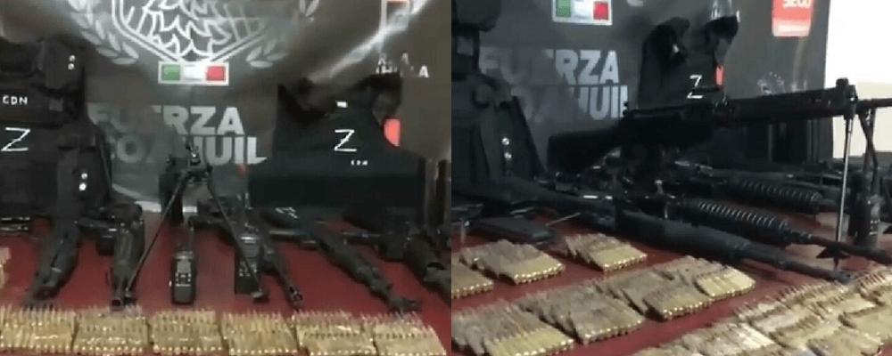 Así se descubrió el arsenal del Cártel de Los Zetas en la Zona Fronteriza con Texas