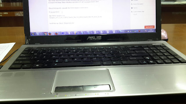 MousePad Laptop Tidak Fungsi atau Bisa Gerak