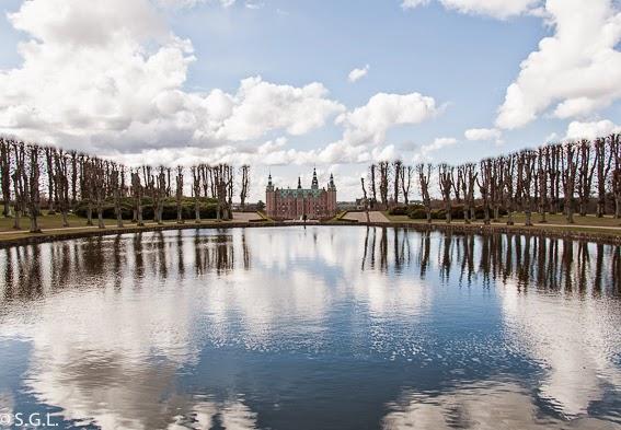 Fotografia de Vista de Frederiksborg desde los jardines