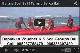 Banana Boat murah di tanjung Benoa Bali