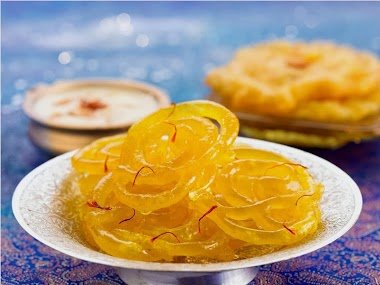 Jalebi - Typical Sweets from India
