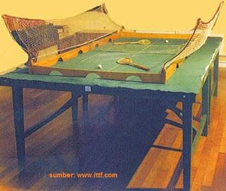 Inilah Sejarah Tenis Meja