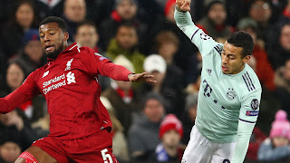Hasil Liga Champions: Liverpool vs Bayern Munchen Imbang
