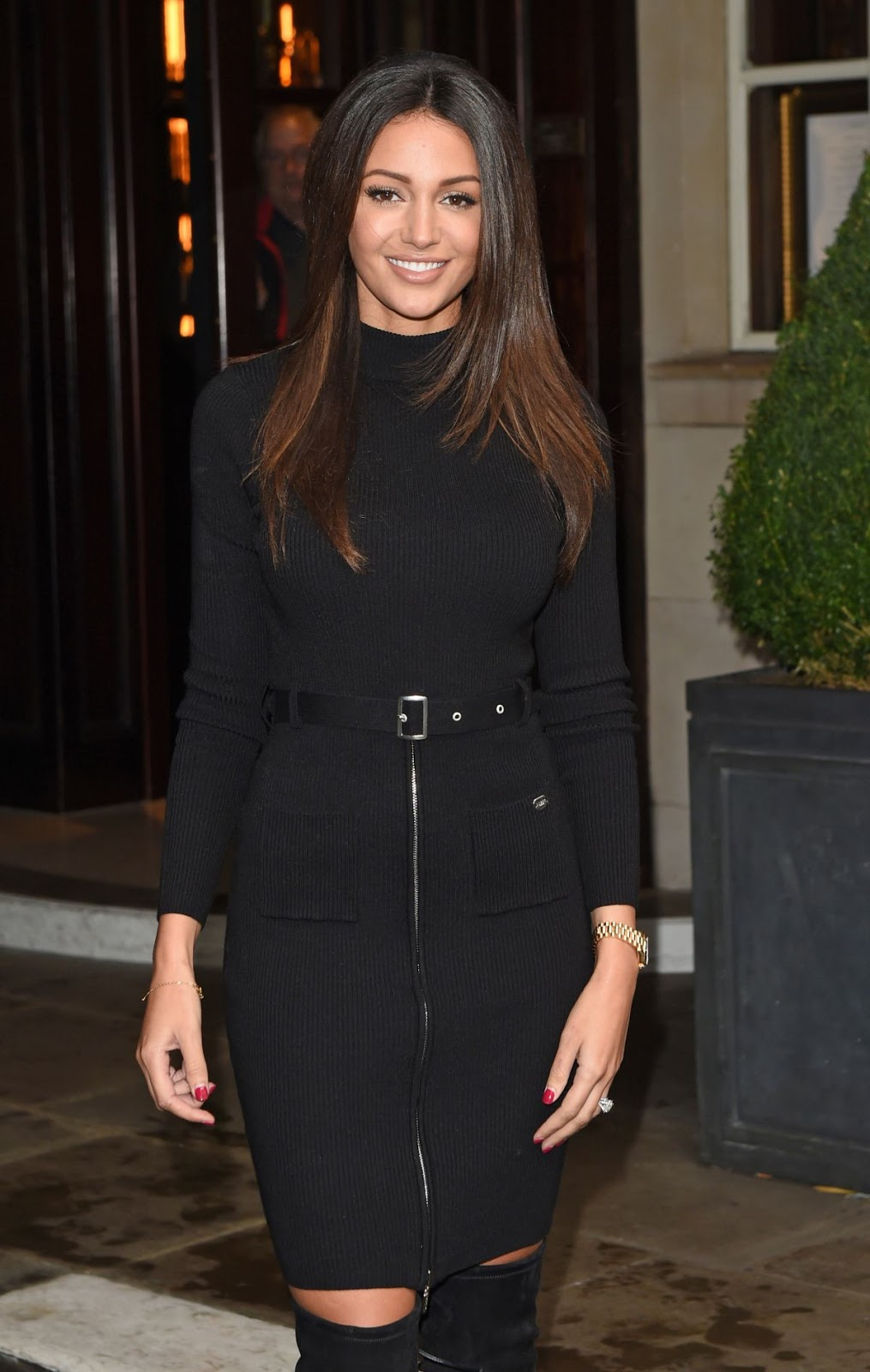 Michelle Keegan At Lipsy Love Michelle Keegan Preview in London - HD Photos