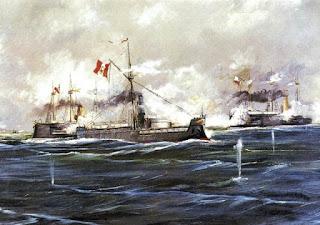 Combate Naval de Angamos, 1879