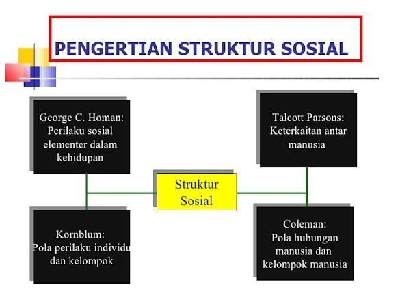Pengertian Struktur Sosial Menurut Para Ahli