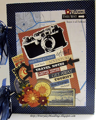 DIY Travel Journal by Shirley Pando