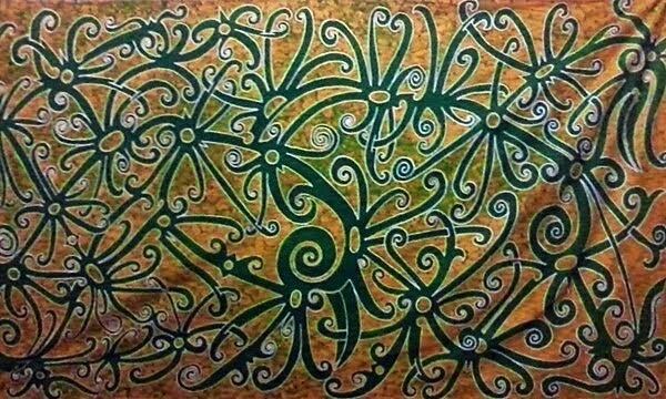 Batik Tulis Halus Motif Sulur Enggang