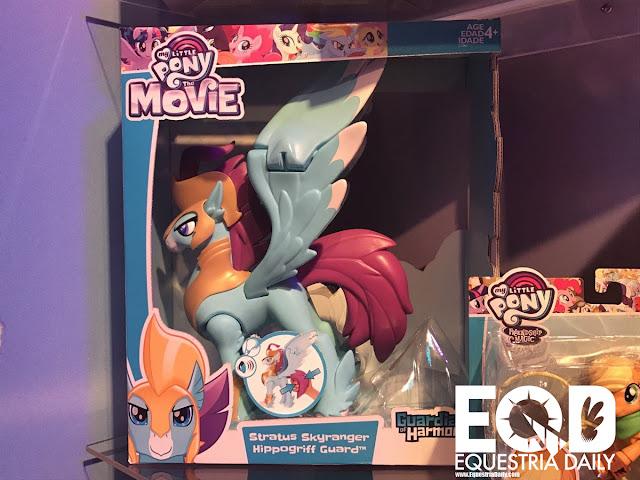 Guardians of Harmony My Little Pony Toy Fair 2017 Stratus Skyguard