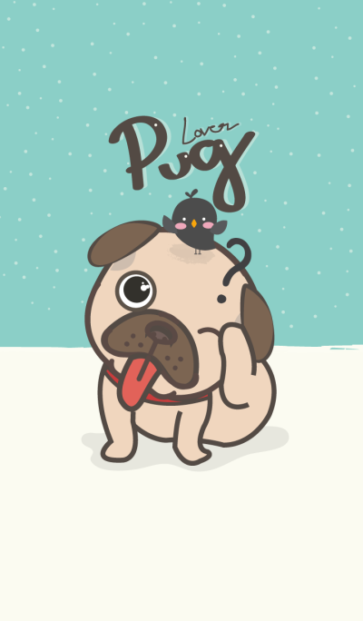 Pug Lover (Blue ver.)
