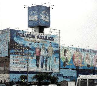 Polvos Azules: Imenso Camelódromo em Lima