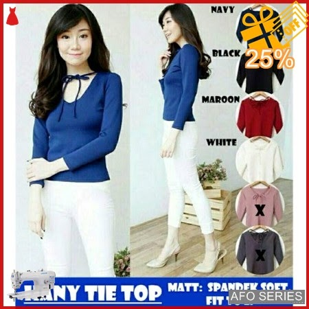 AFO478 Model Fashion Hany Tie Top Modis Murah BMGShop
