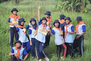 ounbond kegiatan pra kuliah PSPP Yogyakarta nyebrang kali