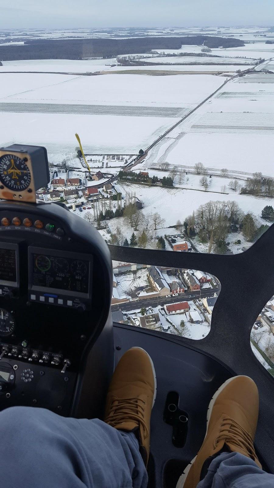 Helicopt\'r: Photos de l\'intérieur de l\'hélicoptère