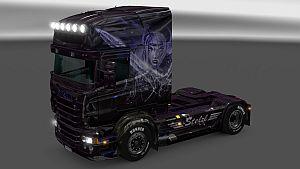 Stelzl Girl skin for Scania RJL