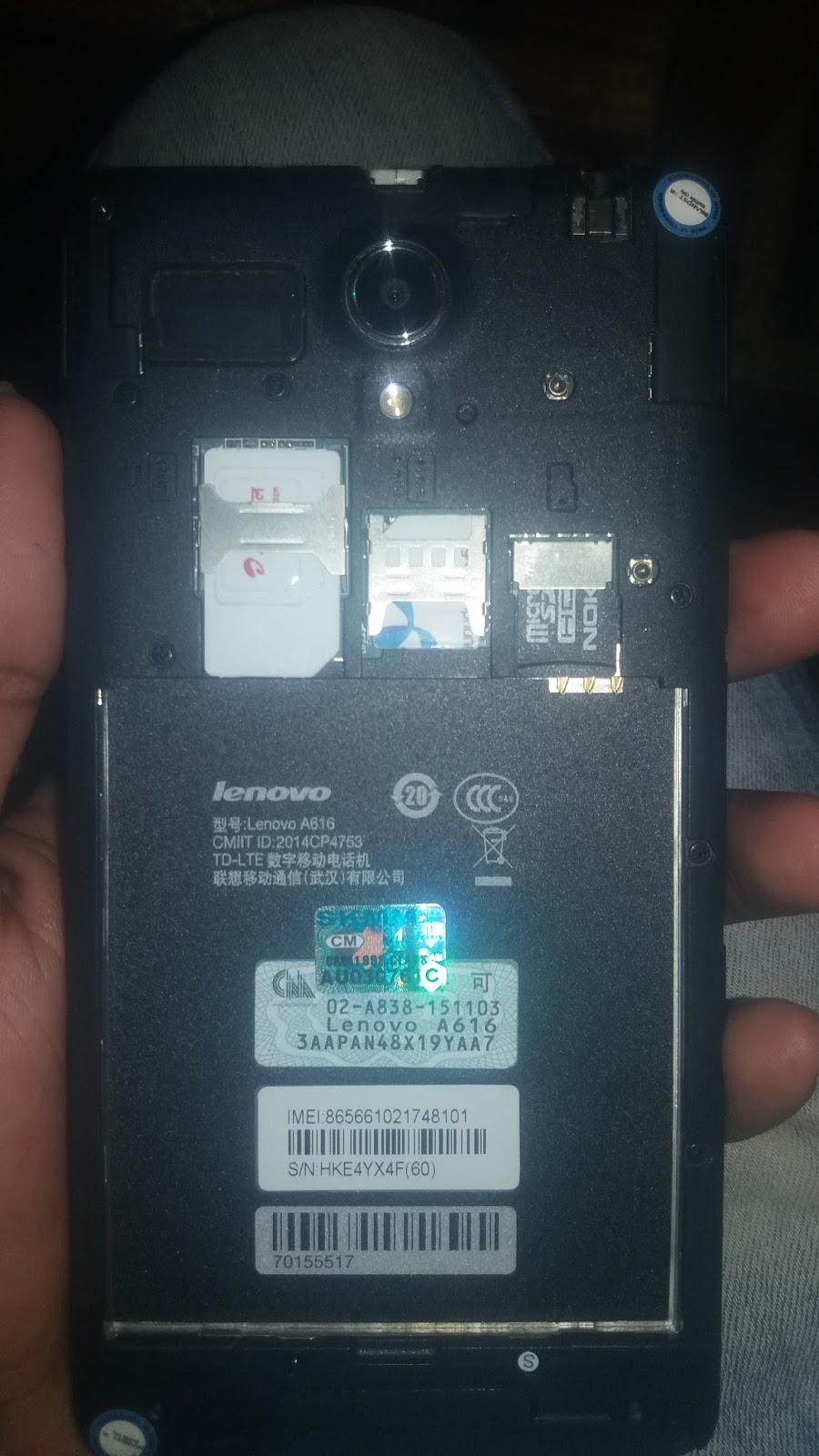 Akash Mobile Zone: lenovo a616 flash file mt6572 firmware