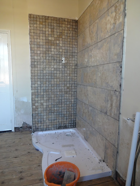 Grouting Marble Tiles