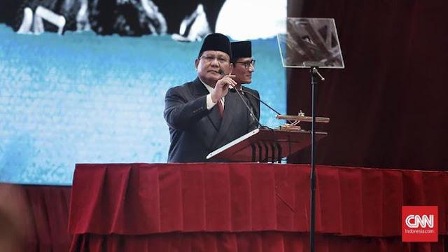 Prabowo: Jangan Inteli Mantan Presiden, Mantan Panglima dan Ulama