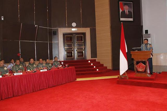Kasum TNI : Bintal TNI Harus Lahirkan Jiwa Juang Yang Tangguh dan Berkarakter