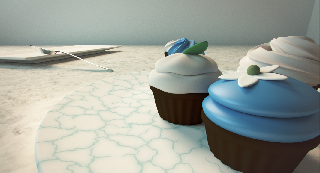 Modeling in Blender: Cupcake Scene [ 3D frosting tutorial ] [ cycles ]