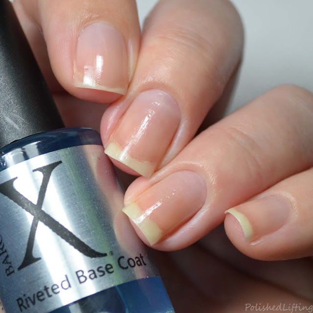 sticky nail polish base coat