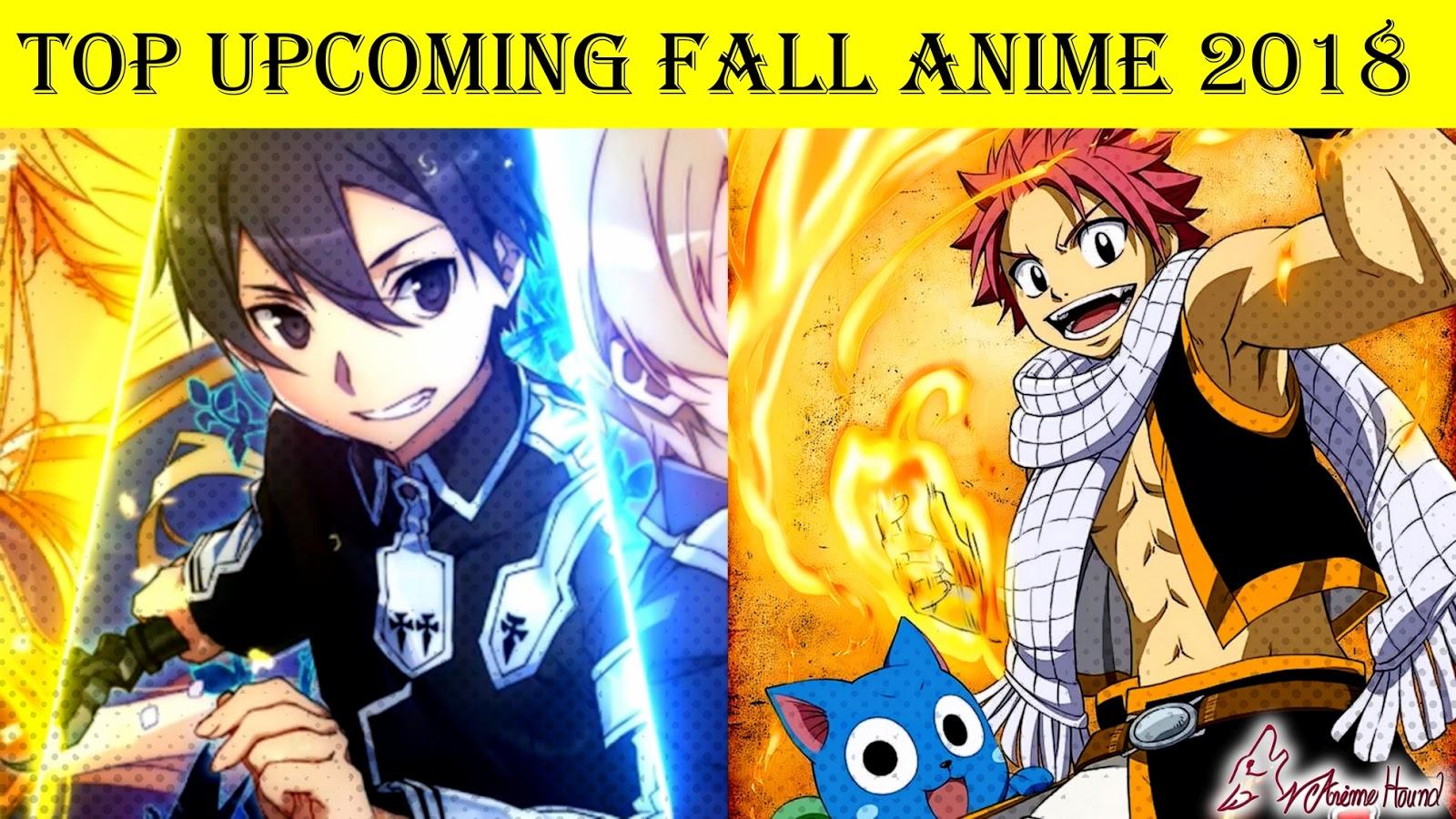 Anime yang akan rilis pada fall 2018