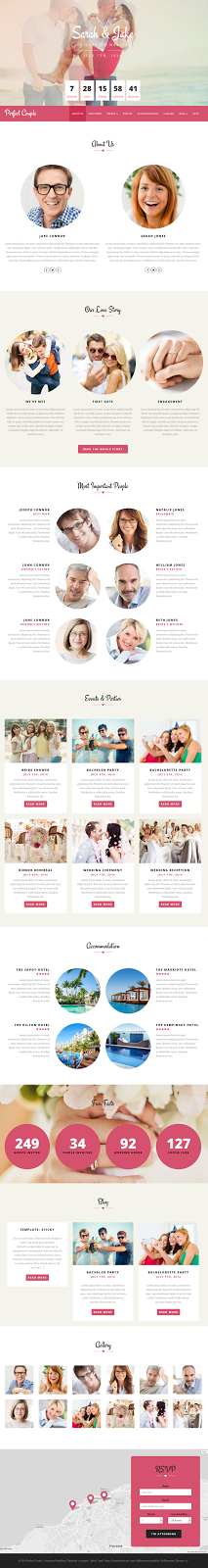 Perfect Couple WordPress Theme
