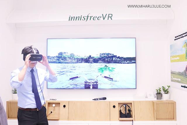 innisfree VR lee minho