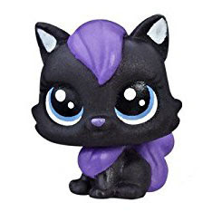 LPS Series 1 Teensie Special Collection Shadowy Kitter (#1-25) Pet