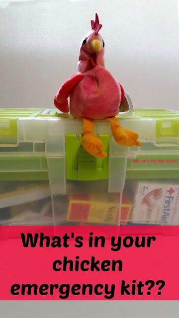 chicken emergency kit