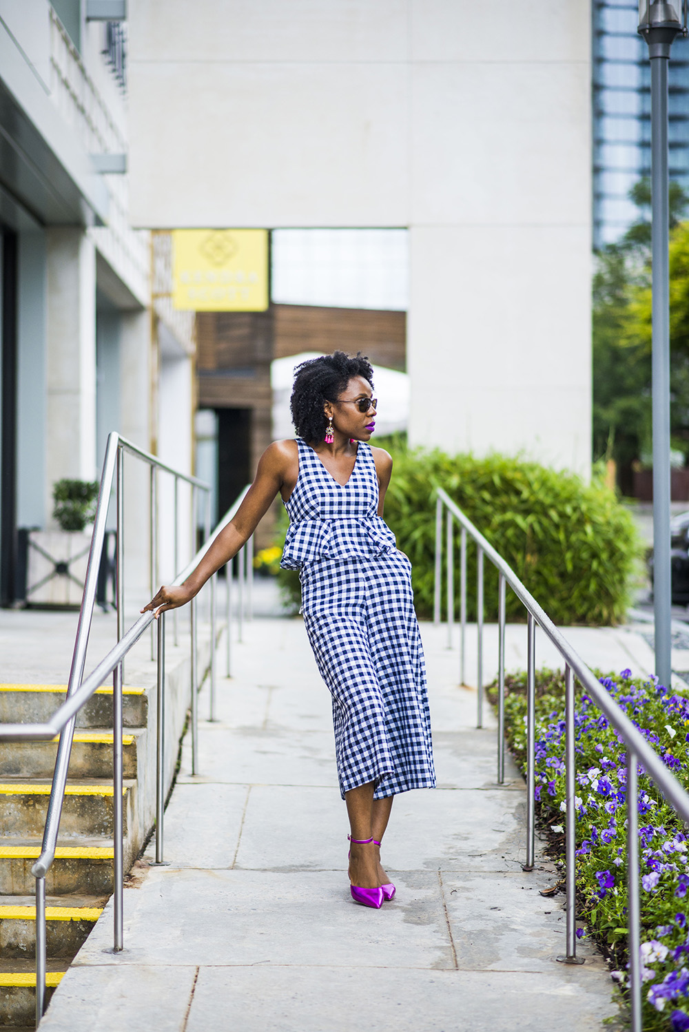 Perfect Gingham Jumpsuit