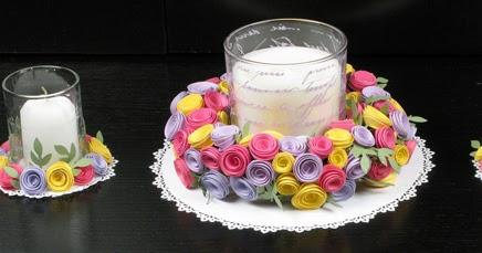 Mcgill Inc Blog Rolled Flower Center Piece