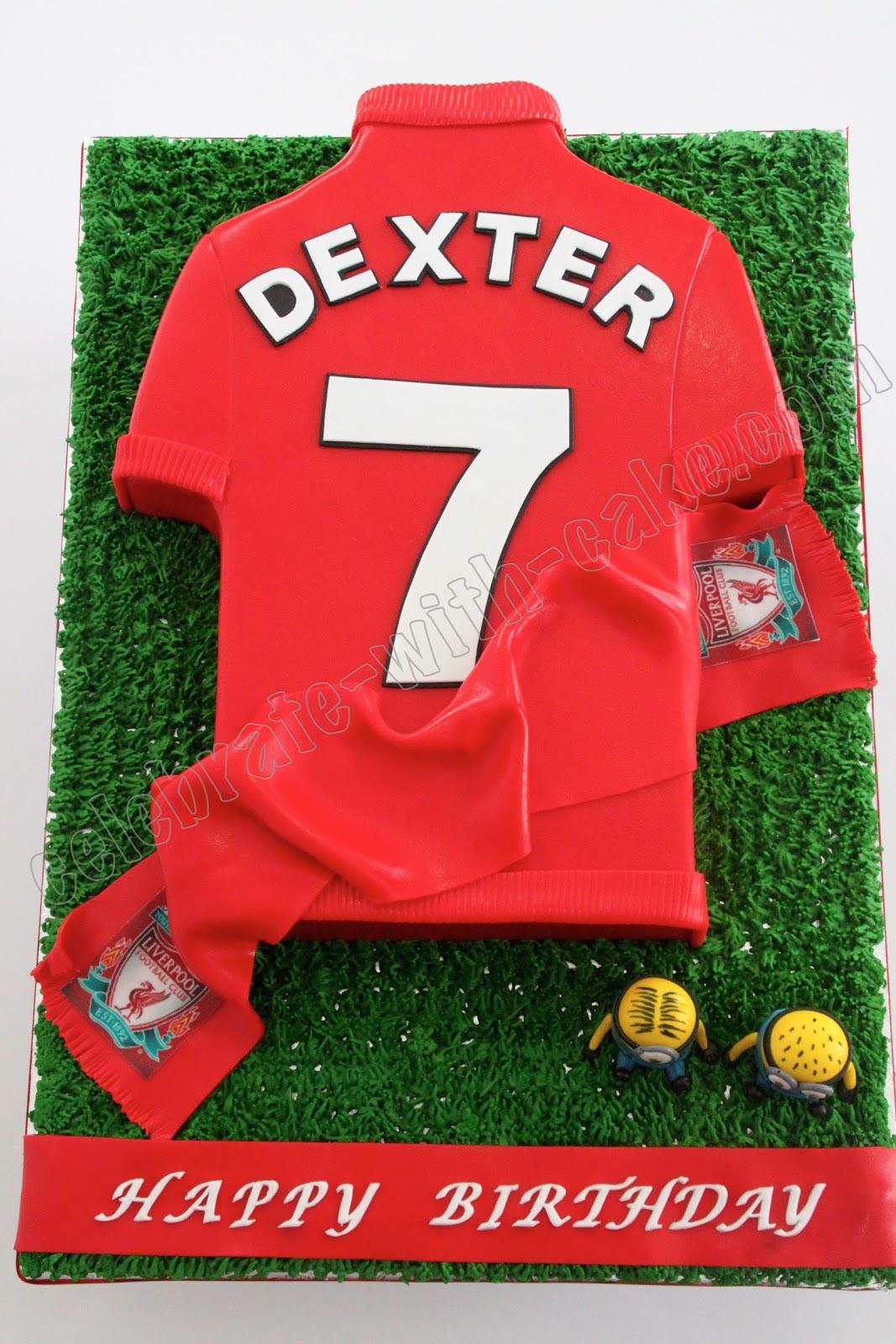 buy popular 62b55 61171 Liverpool FC Jersey Cake