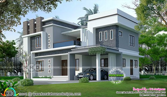 2352 sq-ft modern home plan