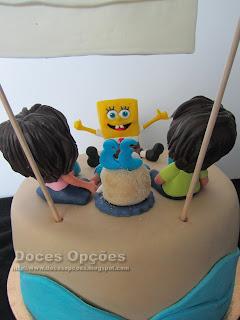 bolo bob esponja doces opções bragança