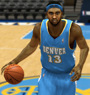 NBA 2K13 Corey Brewer Cyberface Mods Patches