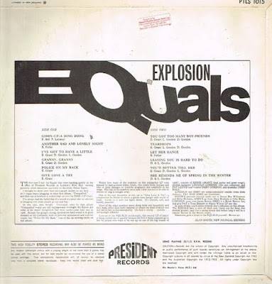 The Equals – Explosion (1967)