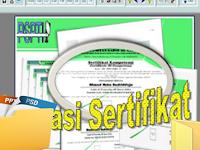 Download Master Aplikasi Pencetak Sertifikat/ Piagam Otomatis New
