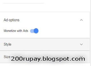 Monitize Matched Content ads