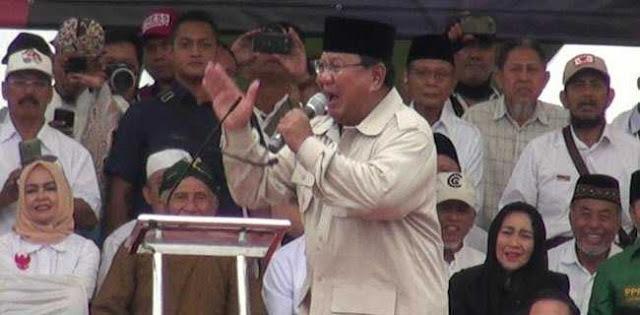 Prabowo Marah Karena Negara Kalian Gadaikan!