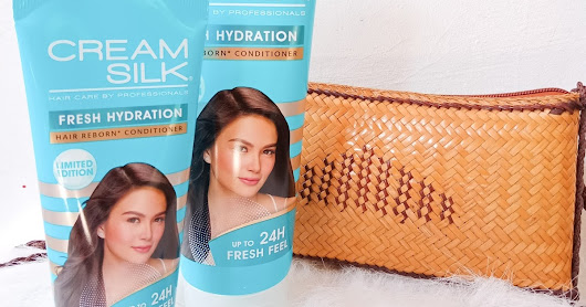 Bye-bye Dry Hair with Limited Edition Cream Silk Fresh Hydration Conditioner
