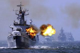 Gelar kekuatan militer China di Laut Cina Selatan
