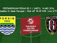 TSC 2016: Persib vs Bali United