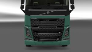 Volvo 2012 FH16 black grille mod