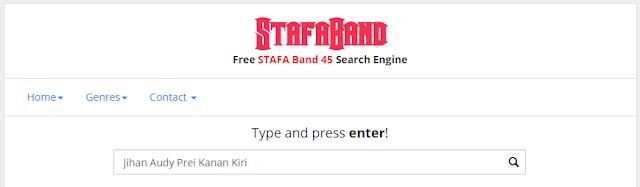 Pencarian Lagu STAFA Band 45