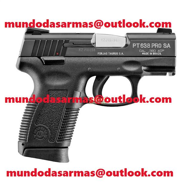 Pistola Taurus 638