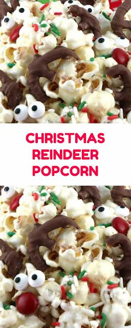 CHRISTMAS REINDEER POPCORN