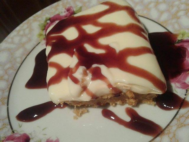 cheesecake με ζαχαρούχο